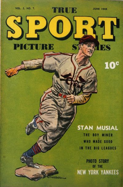 Cover for True Sport Picture Stories (Street and Smith, 1942 series) #v2#7