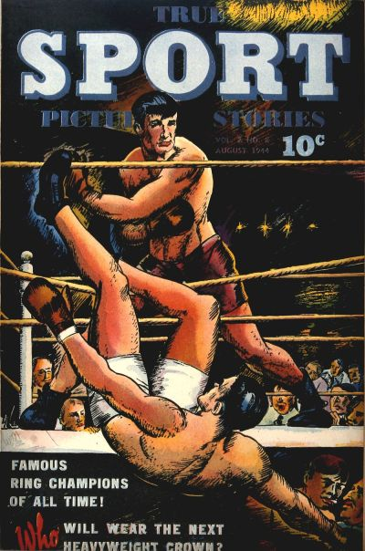 Cover for True Sport Picture Stories (Street and Smith, 1942 series) #v2#8