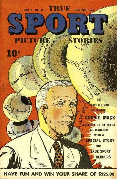 Cover for True Sport Picture Stories (Street and Smith, 1942 series) #v2#10