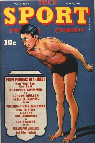 Cover for True Sport Picture Stories (Street and Smith, 1942 series) #v3#2