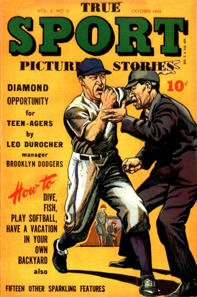 Cover for True Sport Picture Stories (Street and Smith, 1942 series) #v3#3