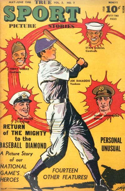 Cover for True Sport Picture Stories (Street and Smith, 1942 series) #v3#7