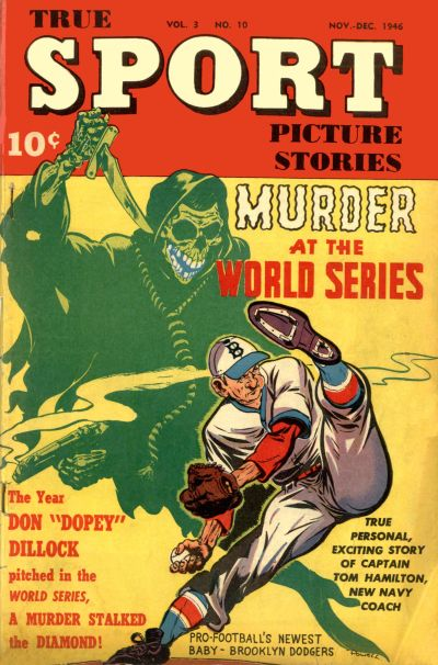 Cover for True Sport Picture Stories (Street and Smith, 1942 series) #v3#10