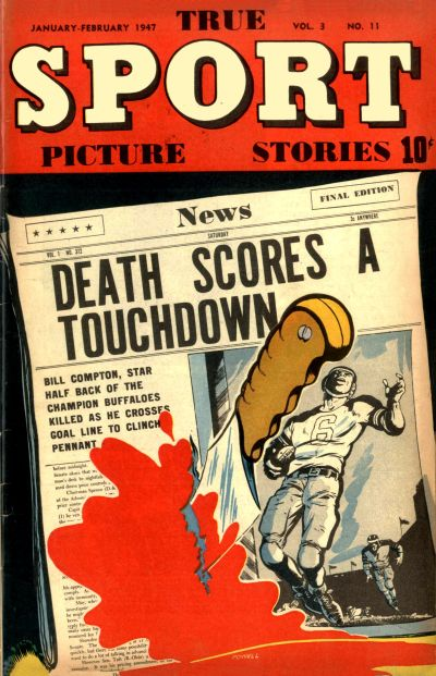 Cover for True Sport Picture Stories (Street and Smith, 1942 series) #v3#11