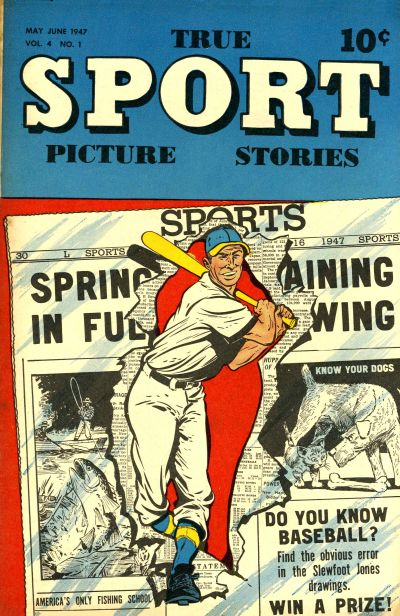 Cover for True Sport Picture Stories (Street and Smith, 1942 series) #v4#1