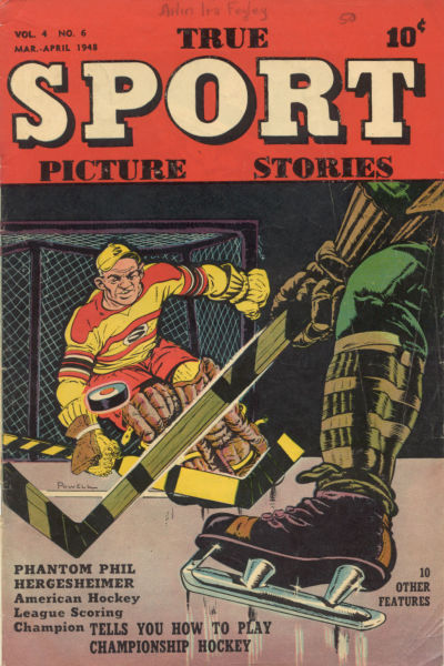 Cover for True Sport Picture Stories (Street and Smith, 1942 series) #v4#6