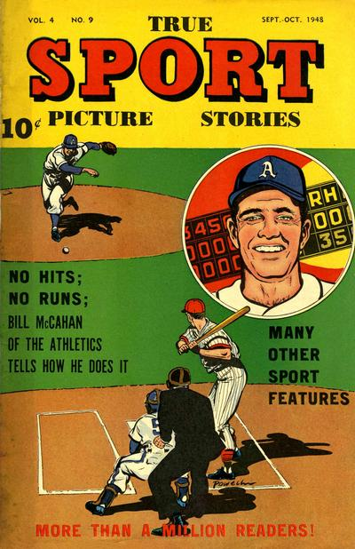 Cover for True Sport Picture Stories (Street and Smith, 1942 series) #v4#9
