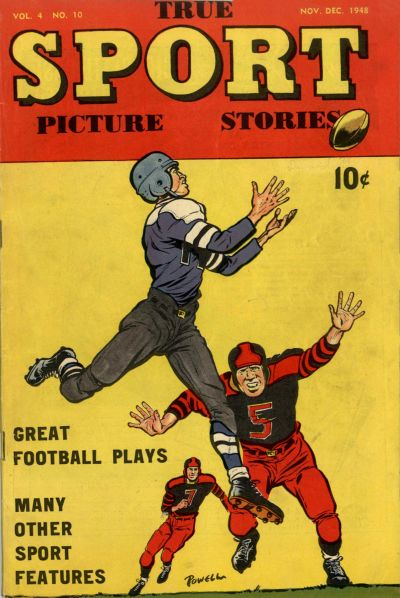 Cover for True Sport Picture Stories (Street and Smith, 1942 series) #v4#10