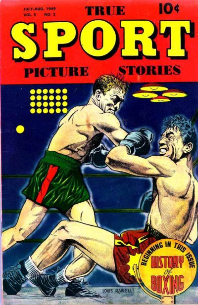 Cover for True Sport Picture Stories (Street and Smith, 1942 series) #v5#2