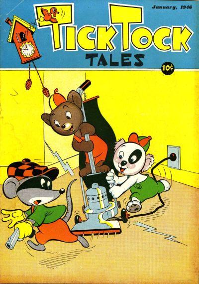 Cover for Tick Tock Tales (Magazine Enterprises, 1946 series) #1