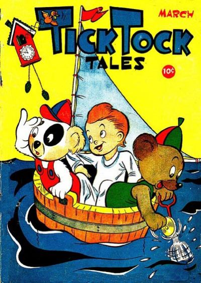 Cover for Tick Tock Tales (Magazine Enterprises, 1946 series) #3