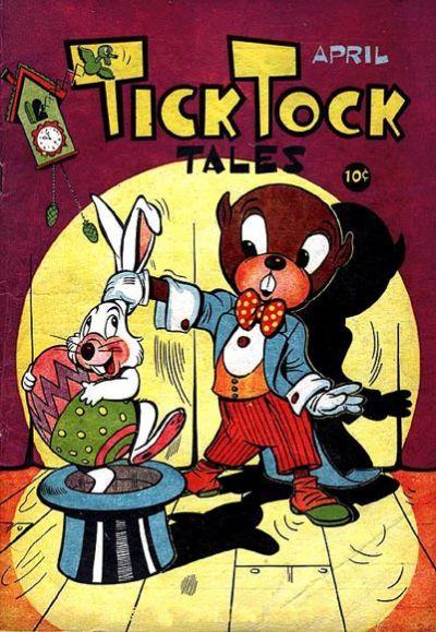 Cover for Tick Tock Tales (Magazine Enterprises, 1946 series) #4