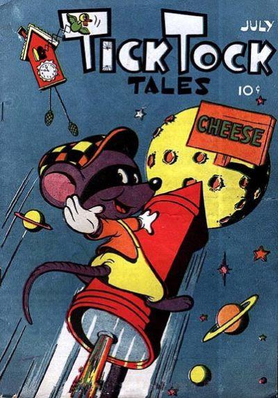 Cover for Tick Tock Tales (Magazine Enterprises, 1946 series) #7
