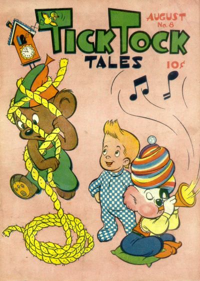 Cover for Tick Tock Tales (Magazine Enterprises, 1946 series) #8