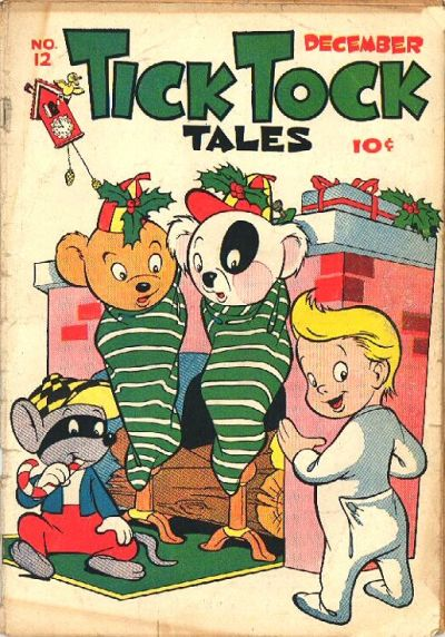 Cover for Tick Tock Tales (Magazine Enterprises, 1946 series) #12