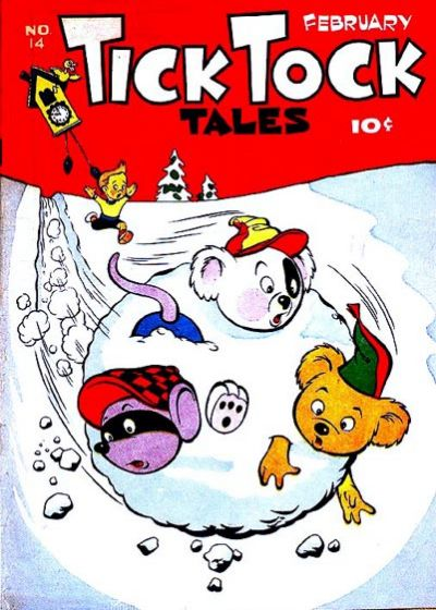Cover for Tick Tock Tales (Magazine Enterprises, 1946 series) #14