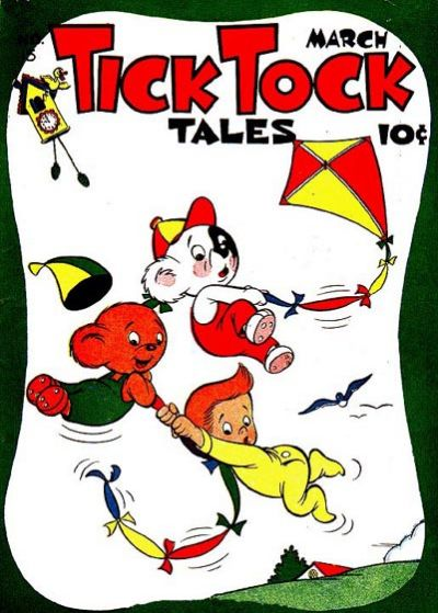 Cover for Tick Tock Tales (Magazine Enterprises, 1946 series) #15