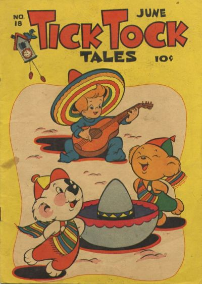 Cover for Tick Tock Tales (Magazine Enterprises, 1946 series) #18