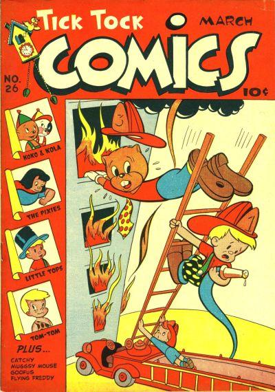Cover for Tick Tock Tales (Magazine Enterprises, 1946 series) #26