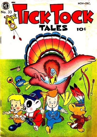 Cover for Tick Tock Tales (Magazine Enterprises, 1946 series) #33