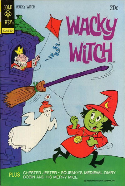 Cover for Wacky Witch (Western, 1971 series) #14 [Whitman Variant]