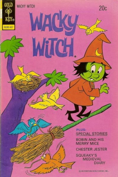 Cover for Wacky Witch (Western, 1971 series) #15 [Gold Key]