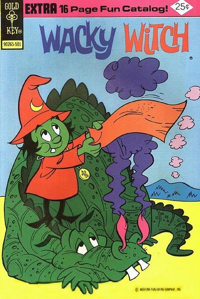 Cover for Wacky Witch (Western, 1971 series) #17 [Gold Key Variant]