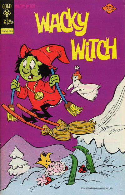 Cover for Wacky Witch (Western, 1971 series) #18