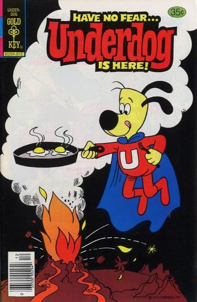 Cover for Underdog (Western, 1975 series) #22 [Whitman Variant]