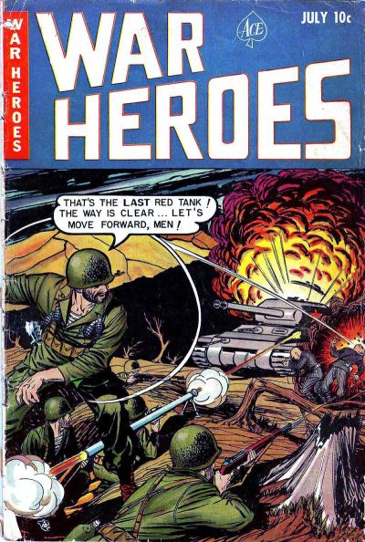 Cover for War Heroes (Ace Magazines, 1952 series) #2