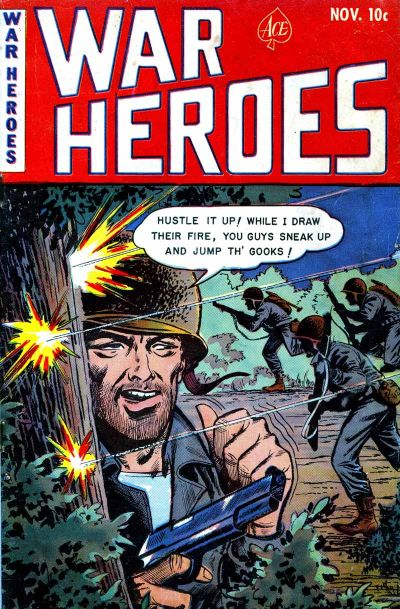 Cover for War Heroes (Ace Magazines, 1952 series) #5
