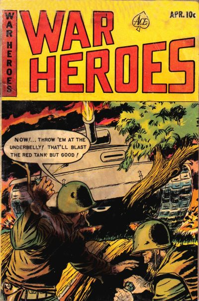 Cover for War Heroes (Ace Magazines, 1952 series) #8