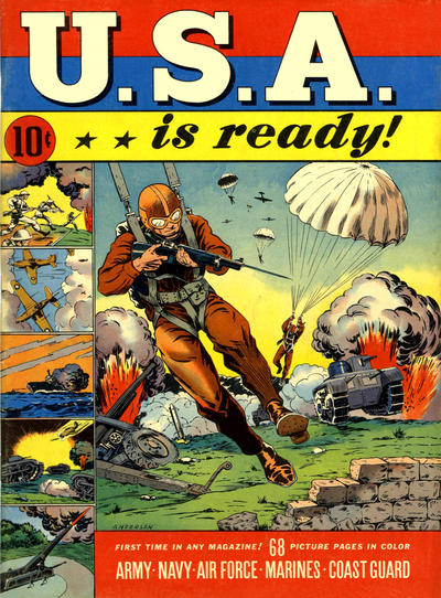 Cover for USA Is Ready (Dell, 1941 series) #1