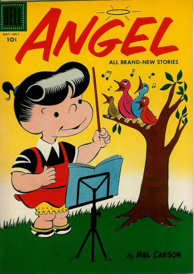 Cover for Angel (Dell, 1954 series) #6