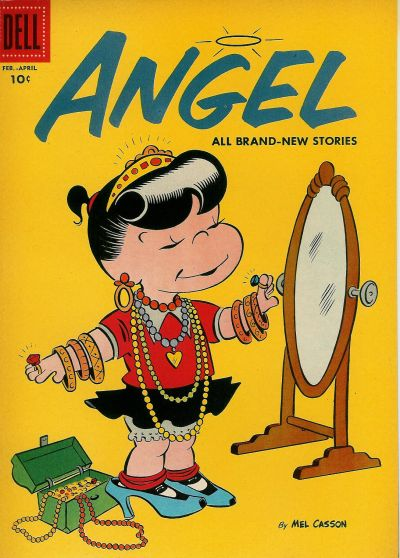 Cover for Angel (Dell, 1954 series) #9