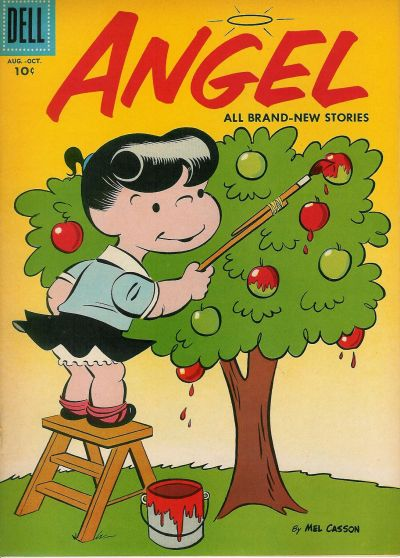 Cover for Angel (Dell, 1954 series) #11