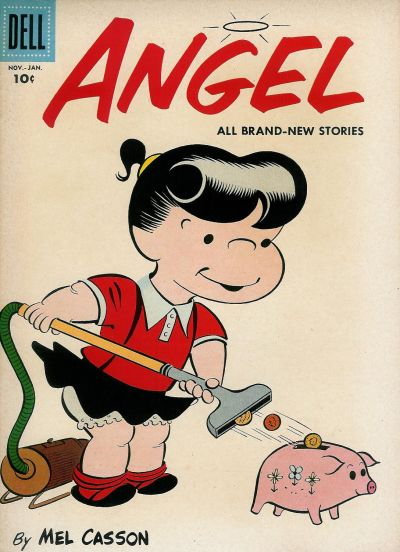 Cover for Angel (Dell, 1954 series) #12