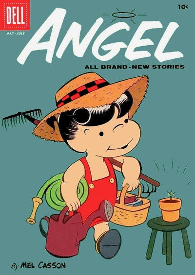 Cover for Angel (Dell, 1954 series) #14