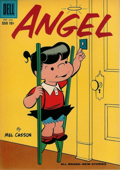 Cover for Angel (Dell, 1954 series) #16