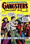 Cover for Gangsters Can't Win (D.S. Publishing, 1948 series) #v1#8