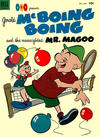 Cover for Gerald McBoing Boing and the Nearsighted Mr. Magoo (Dell, 1952 series) #4