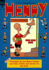 Cover for Henry (Dell, 1948 series) #2
