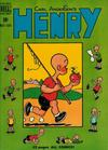 Cover for Henry (Dell, 1948 series) #13
