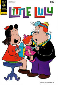 Cover Thumbnail for Little Lulu (Western, 1972 series) #217 [Gold Key]