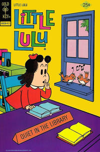Cover Thumbnail for Little Lulu (Western, 1972 series) #222 [Gold Key]