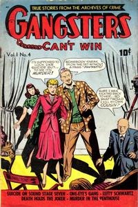 Cover Thumbnail for Gangsters Can't Win (D.S. Publishing, 1948 series) #v1#4