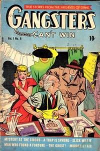 Cover Thumbnail for Gangsters Can't Win (D.S. Publishing, 1948 series) #v1#6