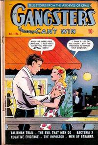 Cover Thumbnail for Gangsters Can't Win (D.S. Publishing, 1948 series) #v1#7
