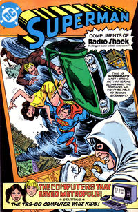 "Cover Thumbnail for Superman in ""The Computers That Saved Metropolis"" (DC, 1980 series)"