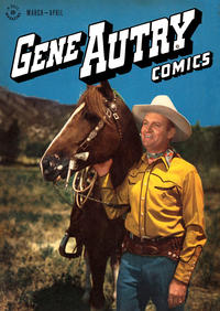 Cover Thumbnail for Gene Autry Comics (Dell, 1946 series) #6